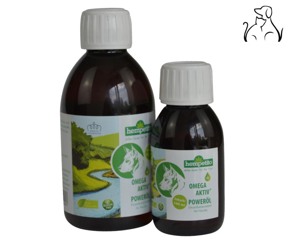 hempetito® Omega-aktiv+ Poweröl 250ml (100% Hanföl)