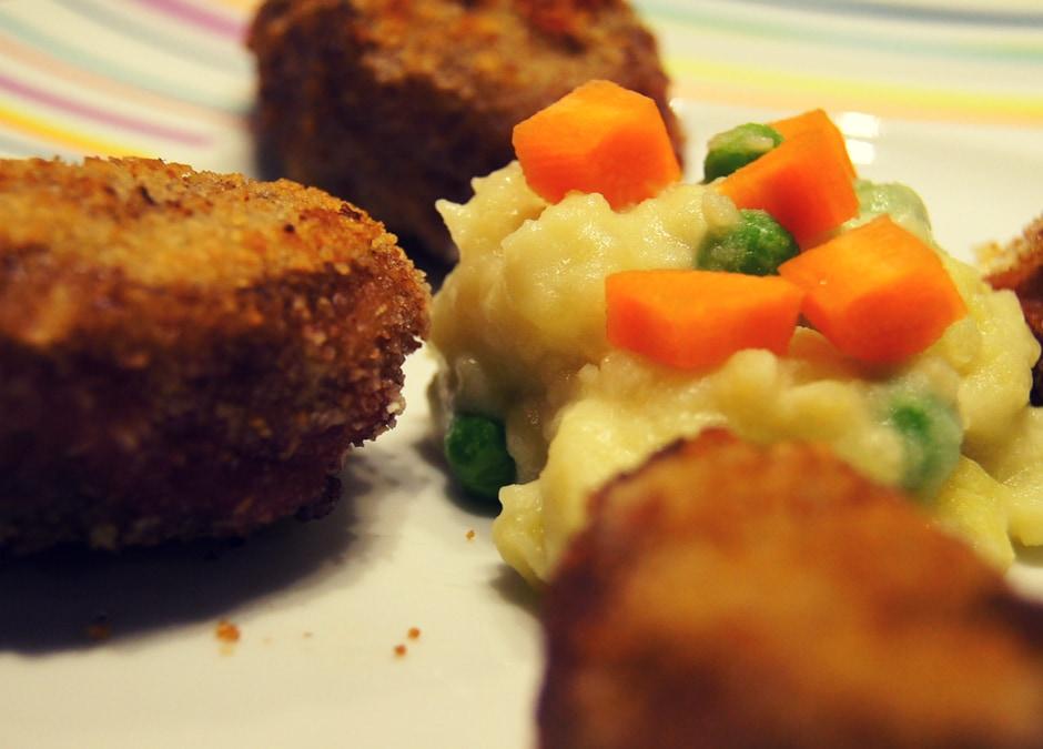 Festliche Entenmedallions auf feinem Kartoffelbrei
